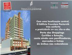 Projeto Edifício Francisco Paciornik. Av. Sete de Setembro, 3485 - Cristo Rei, Curitiba - PR.