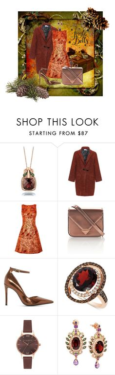 Jingle Bells by teresarussell49 on Polyvore featuring Bohème, Dune, Alexander Wang, Olivia Burton and LE VIAN