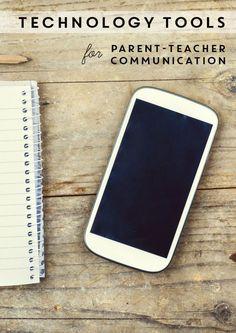 Tech Tools for Parent-Teacher Communication