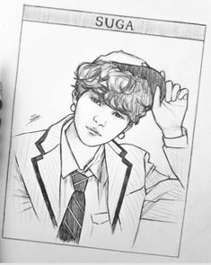 Well overdue for a mouth step by step 😅 I didnt realise it had been so long 😱 the steps are pretty much the same! ~ Mark out the corners… Art Drawings Sketches Simple, Kpop Drawings, Pencil Art Drawings, Sketch Drawing, Aesthetic Drawing, Kpop Fanart, Bts Wallpaper, Drawing Reference, Jimin