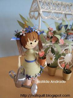 NatiQuill Blog: miniature quilling