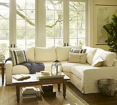 Comfortable Sectionals & PB Comfort Square | Pottery Barn