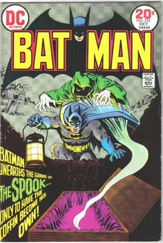 Batman 252 Comic Cover