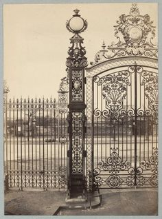 """Research at the State Library of Victoria further update. Dr Marcus Bunyan. """"They still don't get it, do they?"""" Photo: Charles Marville (1813-1879, photographer) 'Parc Monceau' c. 1853 - c. 1870"""