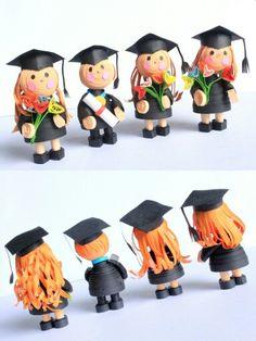 the graduates paper quilling