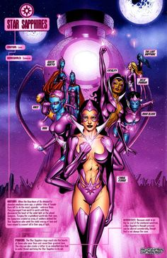 Photo of Star Sapphires *Blackest Night* for fans of DC Comics 5771252