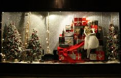 Holiday Store Front Window Display