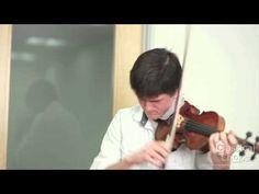 Violinist Nigel Arms