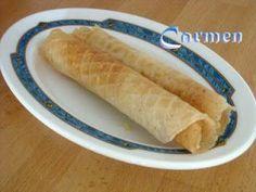 Caprichos sin gluten: Barquillos