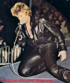 johnny hallyday à metz 1979