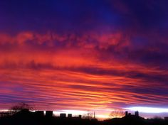 Bianca Paraschiv Sunset from my window