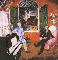 Sonoridade da Gamboa do Carmo | Cícero Dias | 1930 Magritte, Painting, Art History, Sketches, Sculptures, Gamboa, Painting Art, Paintings