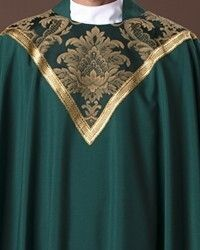The Holy Rood Guild > Chasubles & Copes > Waverly Chasuble: liturgical vestment for priest or deacon Priest, Custom Items, Damask, Damascus, Damasks