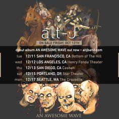 "alt-J Announce December Tour Dates; Release ""Something Good"" SARM Acoustic Version | Hellhound Music"