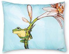 Outdoor pillows...cute:)