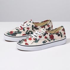 368b7dbdf69fee Roses Authentic Rose Vans Shoes