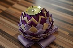 Sviatočný svietnik by yuyanka - SAShE.sk - Handmade Vianoce