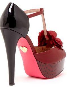 23b0cb90e57 Betsey Johnson Ruby High Heel Sandal♥✤