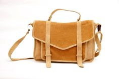 leather satchel by Sabrina Tach $185