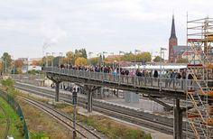 S-Bahn Warschauer Brücke, Berlin, Walter Dombrowsky