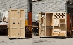 CRATES Folding Furniture - office