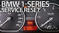 How to #reset #service reminder in #BMW 1-Series #E81 #E82 #E87 #E88 inspection