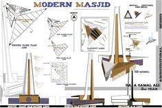 Modern Mosque project – Architecture Linked - Architect & Architectural Social Network