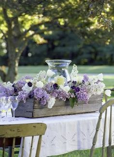 Pretty centerpiece.