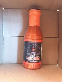 Buffalo Wing Sauce -Medium (12oz) Plastic