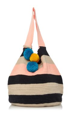 Jonas Striped Woven Tote by SOPHIE ANDERSON Now Available on Moda Operandi
