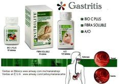 No sufras con la gastritis, para eso existe #nutrilite y disfruta de comer de todo.