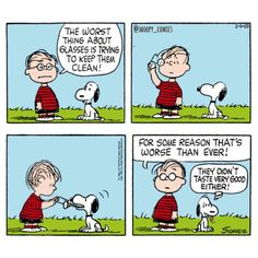 Linus and Snoopy Snoopy Comics, Snoopy Cartoon, Peanuts Cartoon, Bd Comics, Cartoon Pics, Peanuts Comics, Old Cartoons, Funny Cartoons, Funny Comics