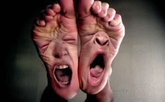 Why does bilateral Morton's neuroma occur? What are the factors that lead to Morton's neuroma on both feet? What causes Morton's neuroma? Foto Fun, Foot Pics, Sore Feet, Photoshop, Nasu, Nurse Humor, Tea Tree Oil, Photo Manipulation, It Hurts