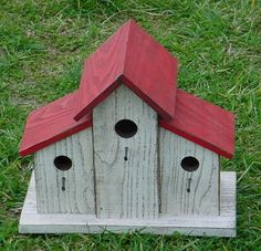 Image result for wooden bird feeder