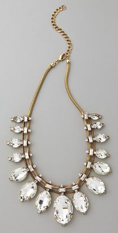 Modern Bridal Accessories: Statement Necklaces | Modernly Wed