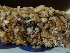 Smudged: Made It: No Bake Chewy Granola Bars