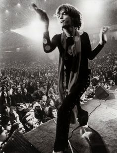 vintage everyday: The Rolling Stones at 1969 Altamont Free Concert