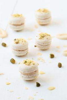 Macarons au nougat - www.Puregourmandise.com
