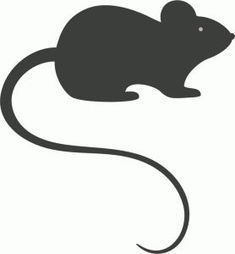 I think I'm in love with this mouse shape from the Silhouette Design Store!