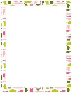 Printable fiesta border. Use the border in Microsoft Word ...