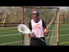 Trevor Tierney Goalie Drills   Butterfly Style - YouTube