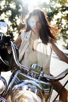 Adriana Lima looking perfect as usual in the 'On the Road' feature in the February 2012 issue of Vogue Brazil.
