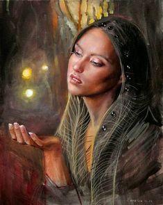 Paintings by Emilia Wilk - Ego - AlterEgo Hyper Realistic Paintings, Traditional Paintings, Mural Art, Native American Art, Black Art, Love Art, Female Art, Fantasy Art, Illustration Art
