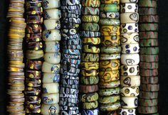 African trade beads Jewelry Making Beads, Jewelry Making Supplies, Beaded Jewelry, Beads Unlimited, Beadwork, Beading, African Trade Beads, Beads And Wire, Tribal Jewelry