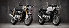 triumph thruxton motorcycle: the evolution of a classic café racer
