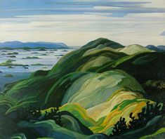 Bay of Islands by Franklin Carmichael, 1931