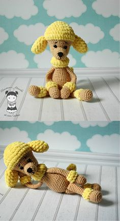 How to Make Poodle Amigurumi
