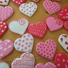 Valentine's Day cookies I made...