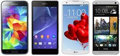 Samsung Galaxy S5 vs. the competition: the battle of Android flagships has new contenders