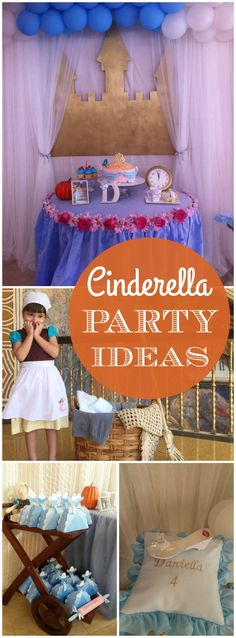 How amazing is this real life Cinderella birthday party?! See more party ideas at CatchMyParty.com! Disney Princess Birthday Party, Princess Party Favors, Cinderella Birthday, Birthday Party Favors, Birthday Crowns, Prince Party, Real Life, Party Ideas, Embroidery Applique